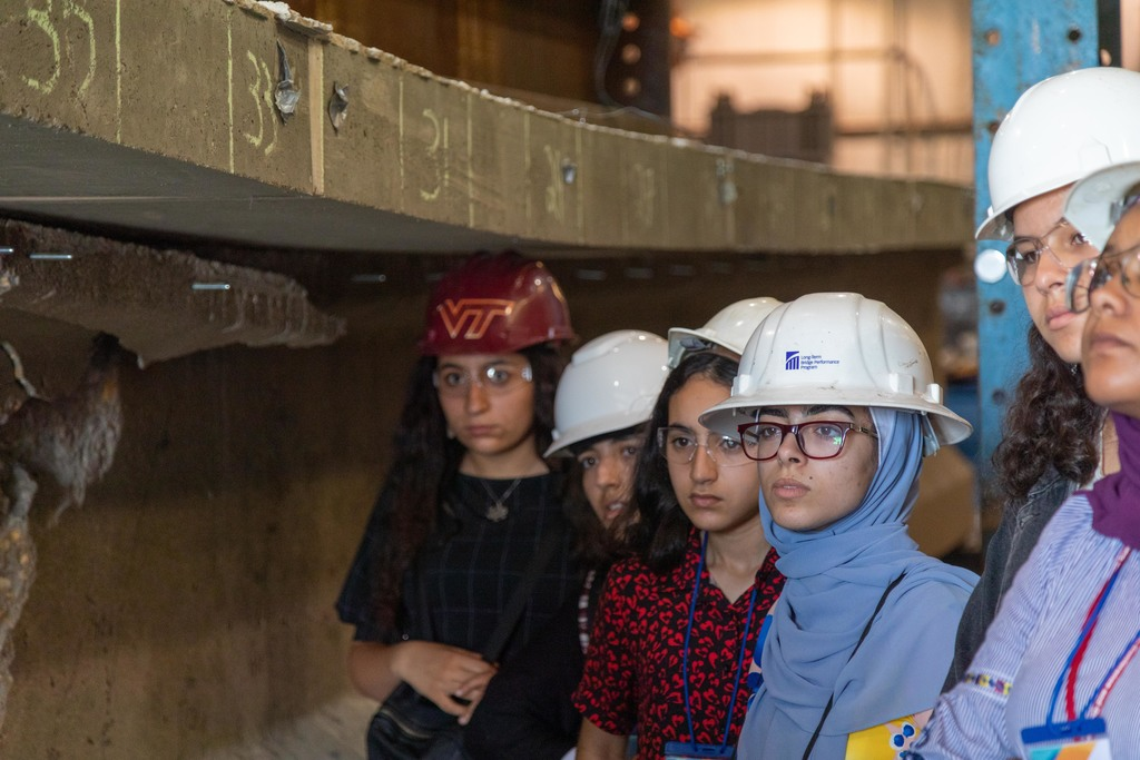 Virginia Tech welcomes TechGirls for 12-day camp