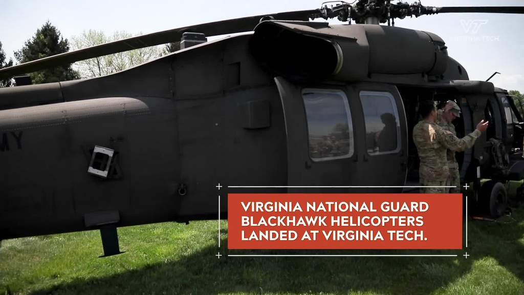 Army ROTC cadets deploy to training exercise aboard Blackhawk helicopters