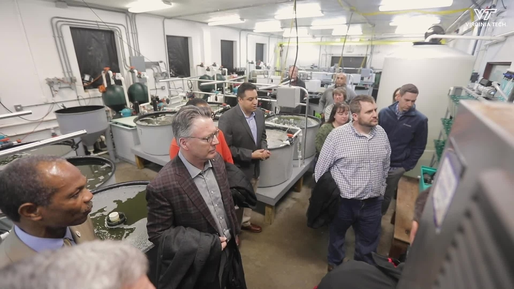 Statewide tour offers insight into Virginia Tech extension research locations