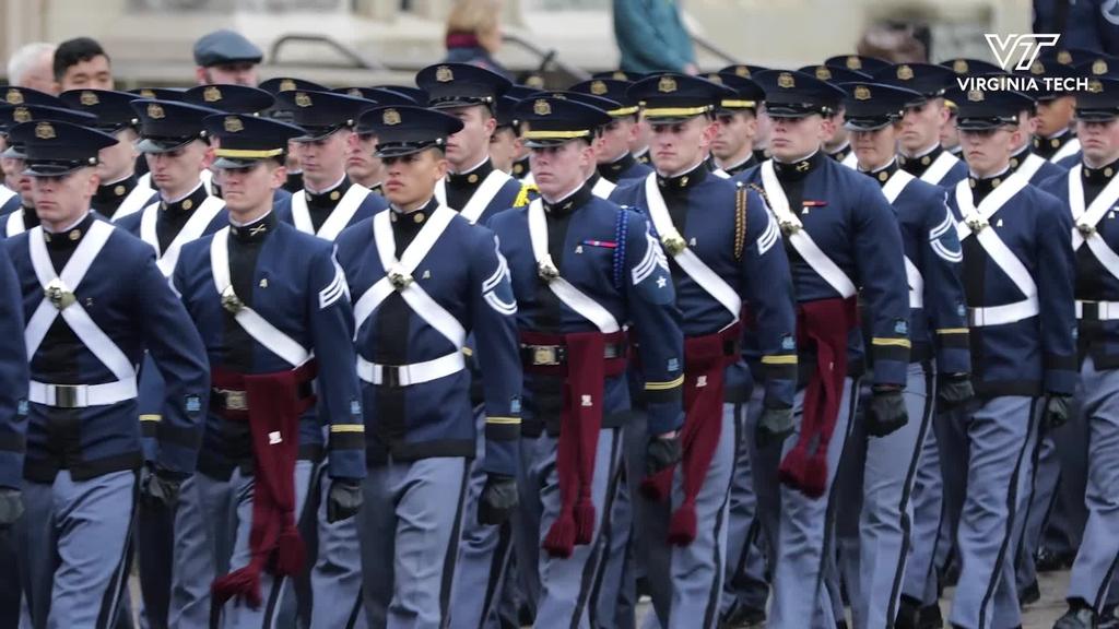 Virginia Tech honors U.S. Navy Ensign Sarah Mitchell