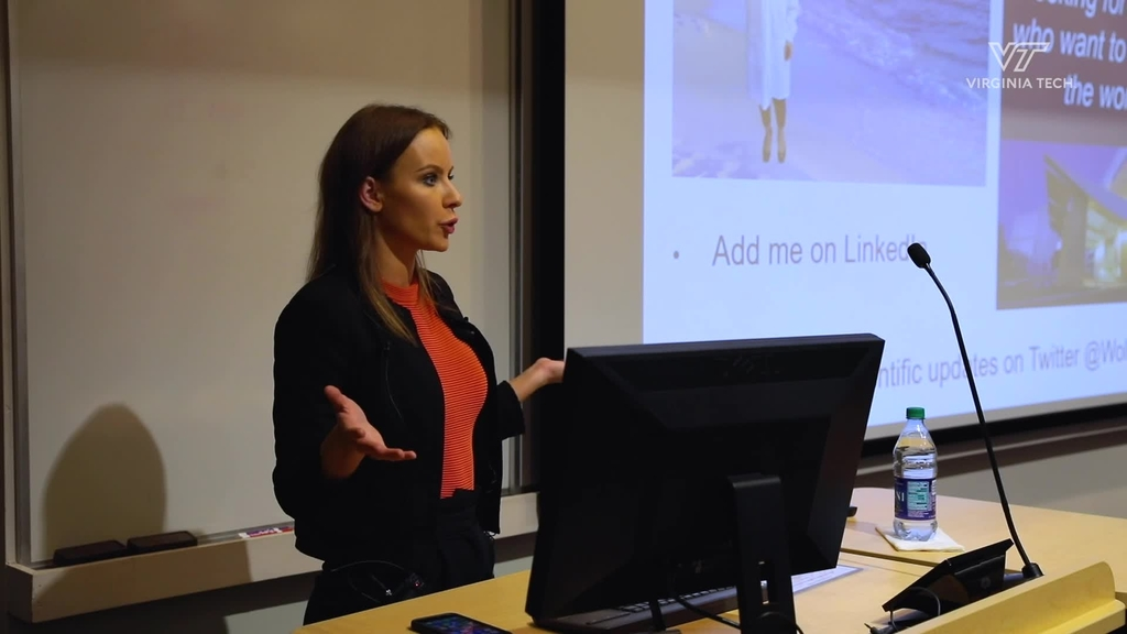 Nanoscience students host guest speaker from Mayo Clinic