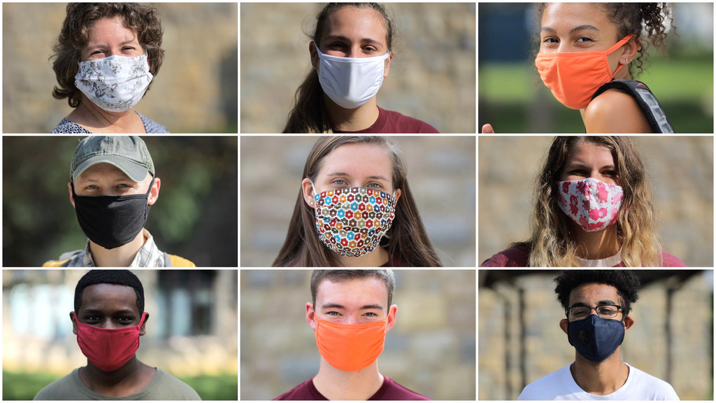 Forgot your mask? Pick one up on campus