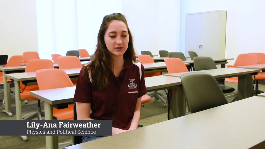What's your science? - Lily-Ana Fairweather