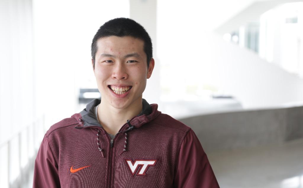 Meet a Hokie: Simon Shi