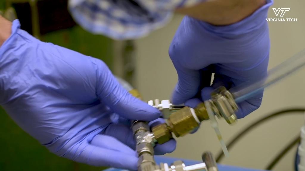 William Ducker Produces Coating That Neutralizes SARS-CoV-2 Virus