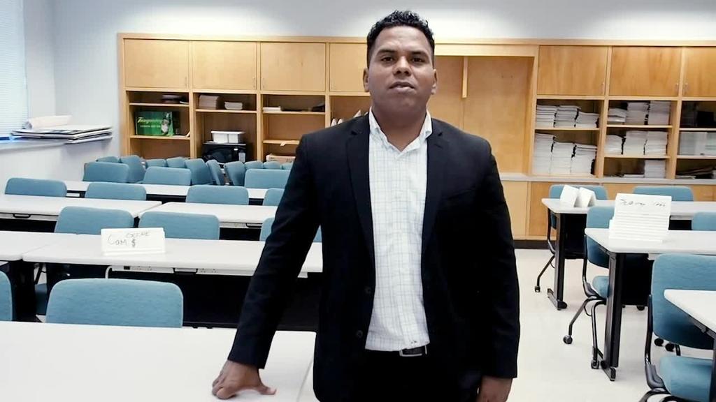 Oscar Solis helps first-year Hokies excel