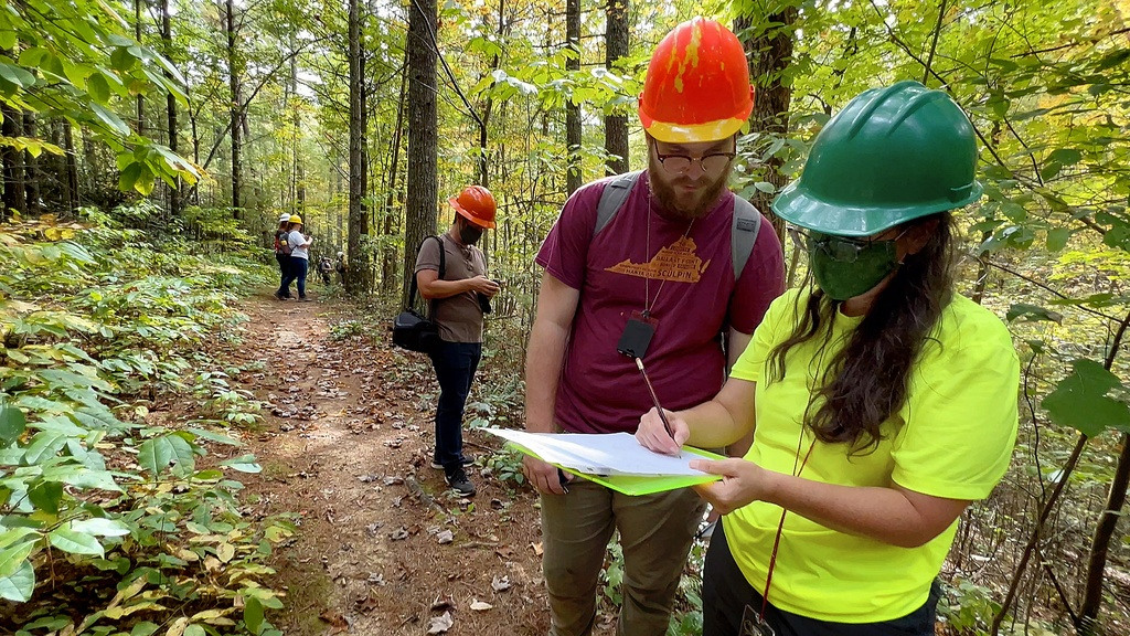 Forestry students learn through hands-on experience