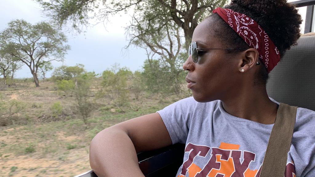Veterinary college alumna Lauren Dodd '19 serves the world