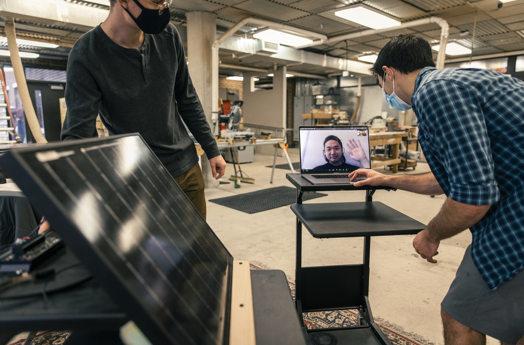 WAAC uses technology to connect architecture students