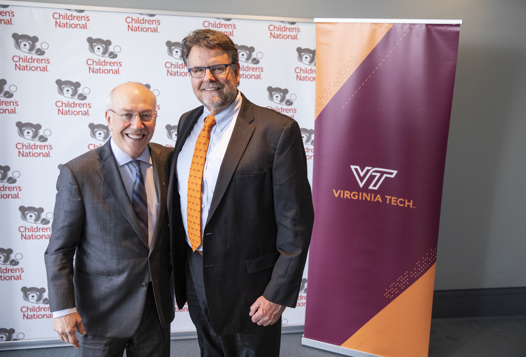 Children's National Hospital, Virginia Tech announce partnership for new Children's National Research & Innovation Campus