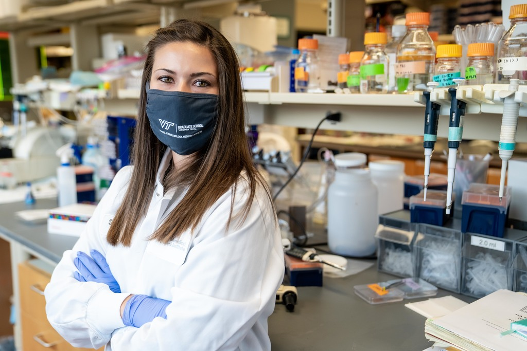 TBMH graduate student awarded two grants to advance brain cancer research