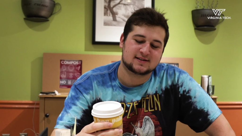 Students celebrate National Coffee Day