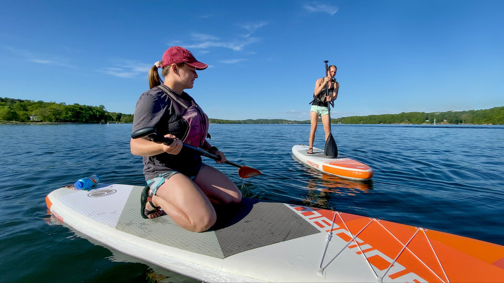 Paddleboarding with Venture Out