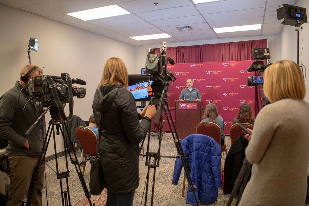 The Year in Media: Clips of Virginia Tech stories