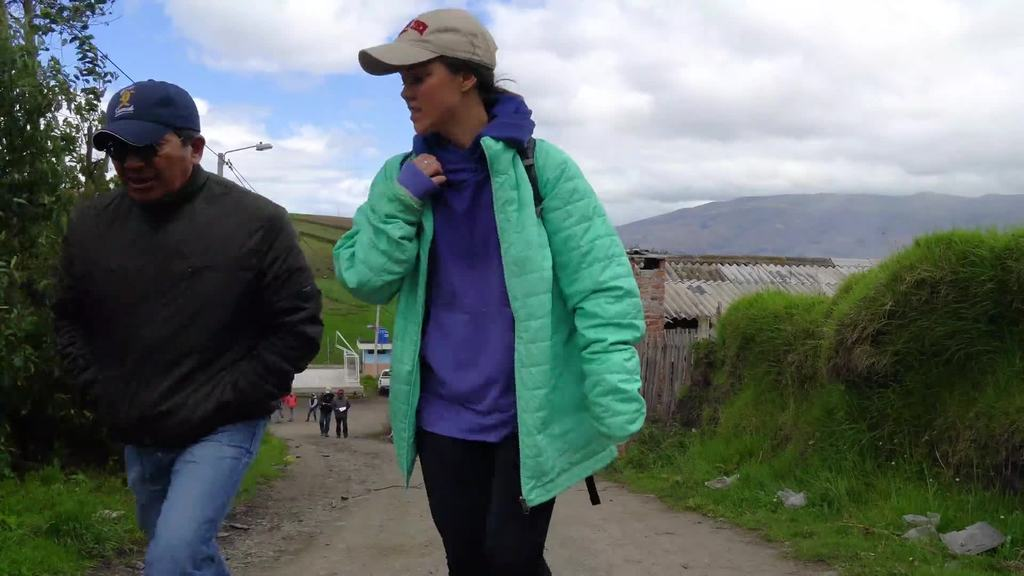 Students research ag in Ecuador