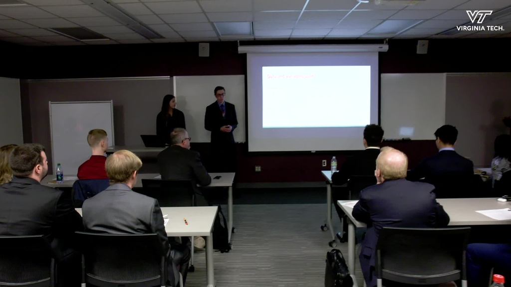 Computational Modeling and Data Analytics Capstone students tackle industry projects