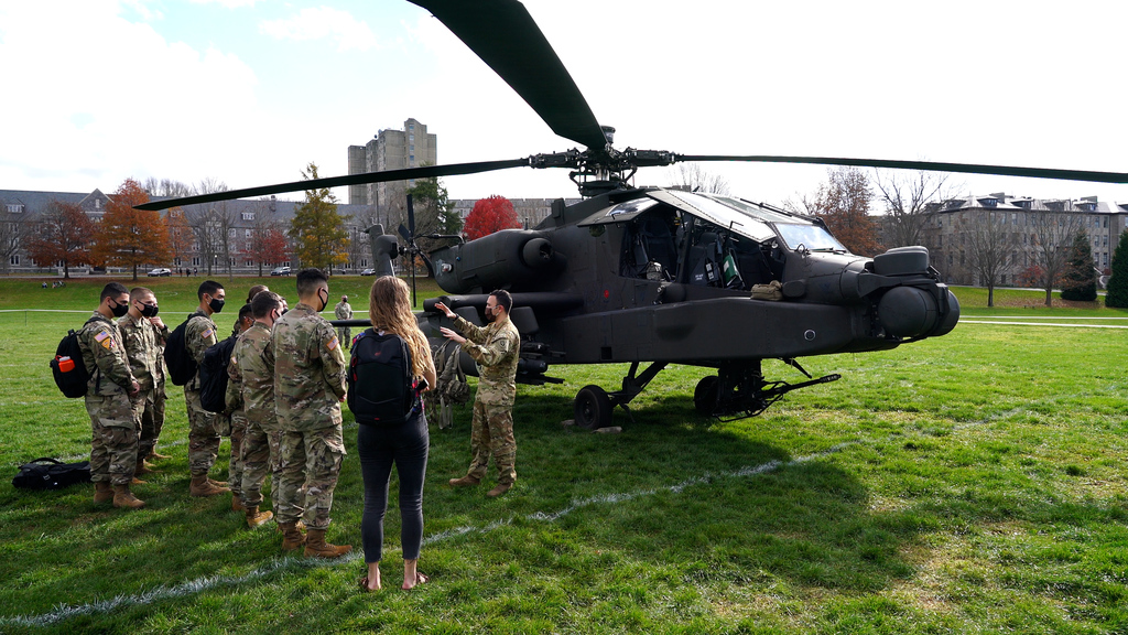 The Army experience lands on Virginia Tech's campus