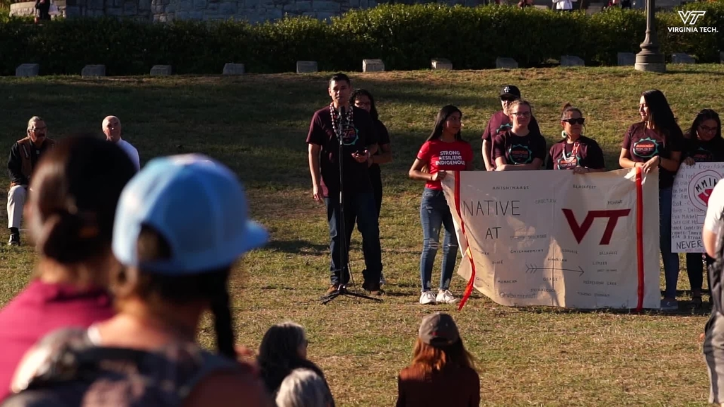 Virginia Tech celebrates Indigenous Peoples Day