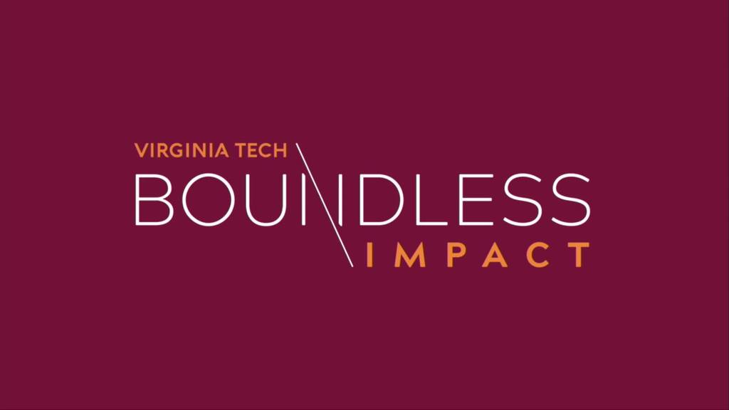 Virginia Tech launches Boundless Impact campaign