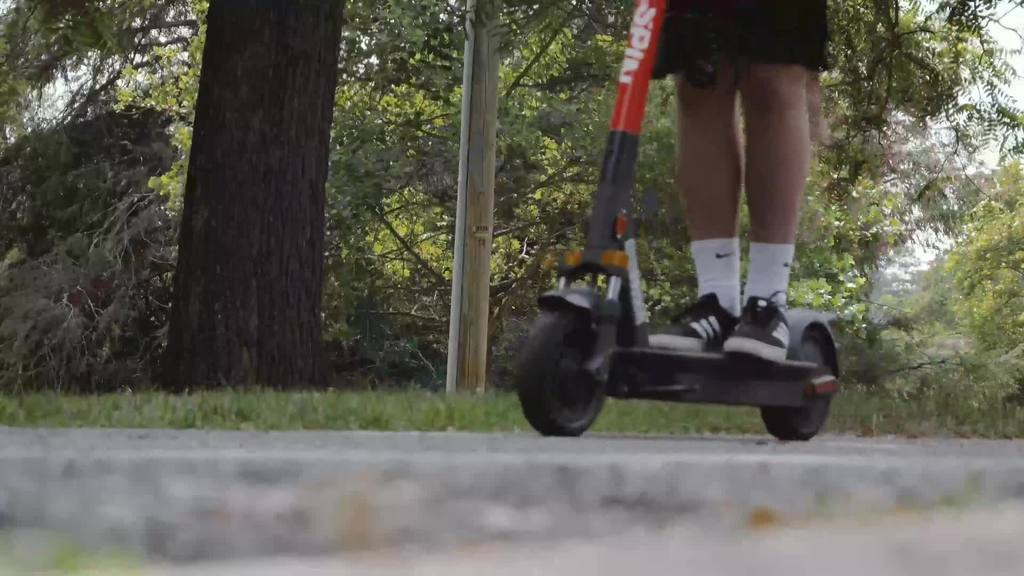 E-scooters return to Virginia Tech providing opportunities for research, alternative transportation