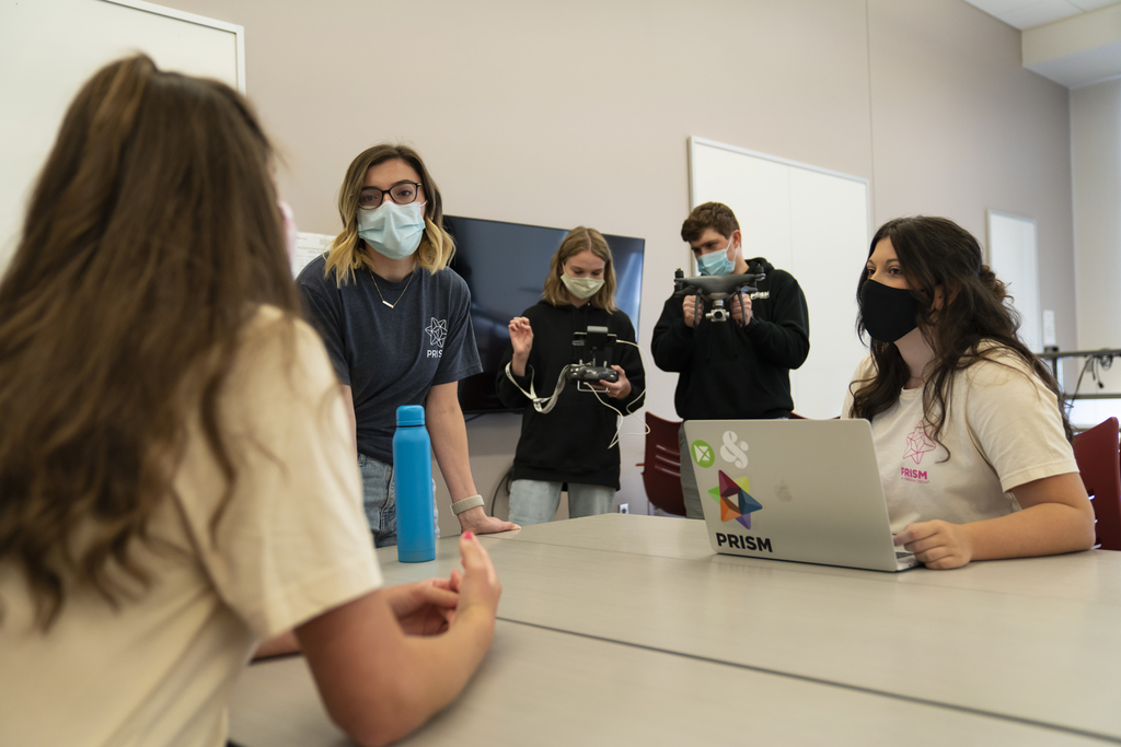 Students highlight a decade of PRISM with video project