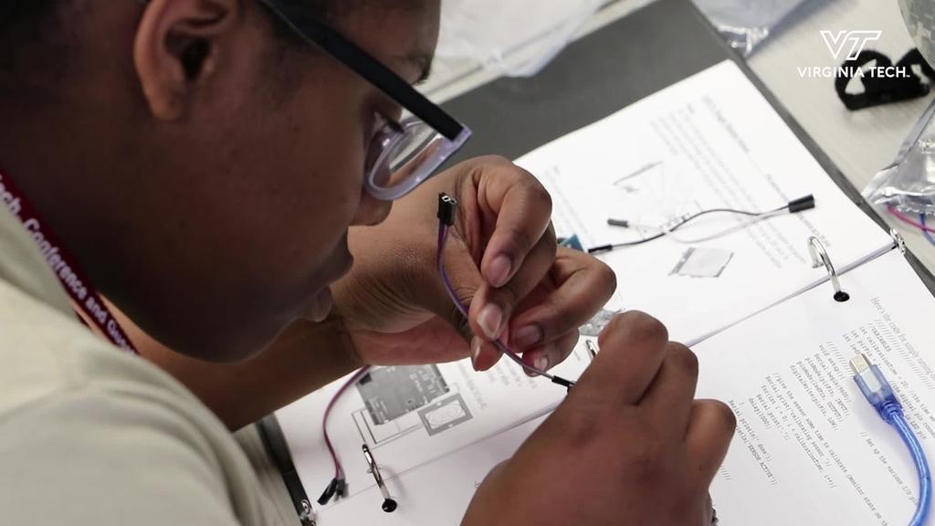 Virginia Tech hosts pre-college program for JROTC students
