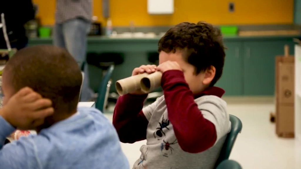 Principal, teacher inspired by Qualcomm Thinkabit Lab bring one their school