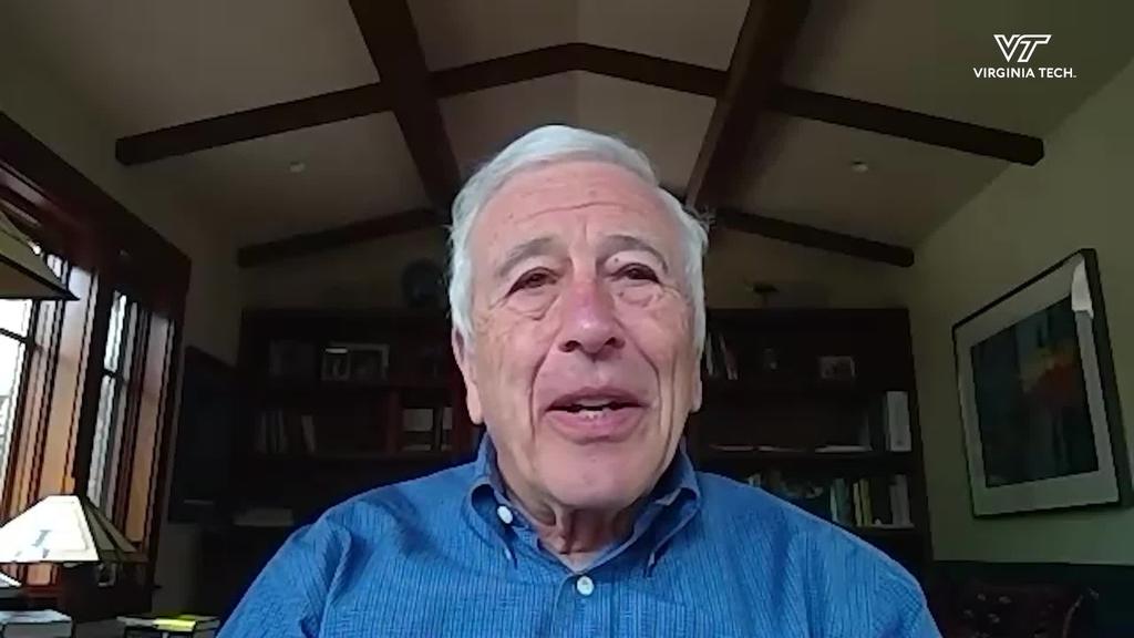Cornerstone Moment: Alumnus Bill Lewis reflects on being Virginia Tech's first Rhodes Scholar