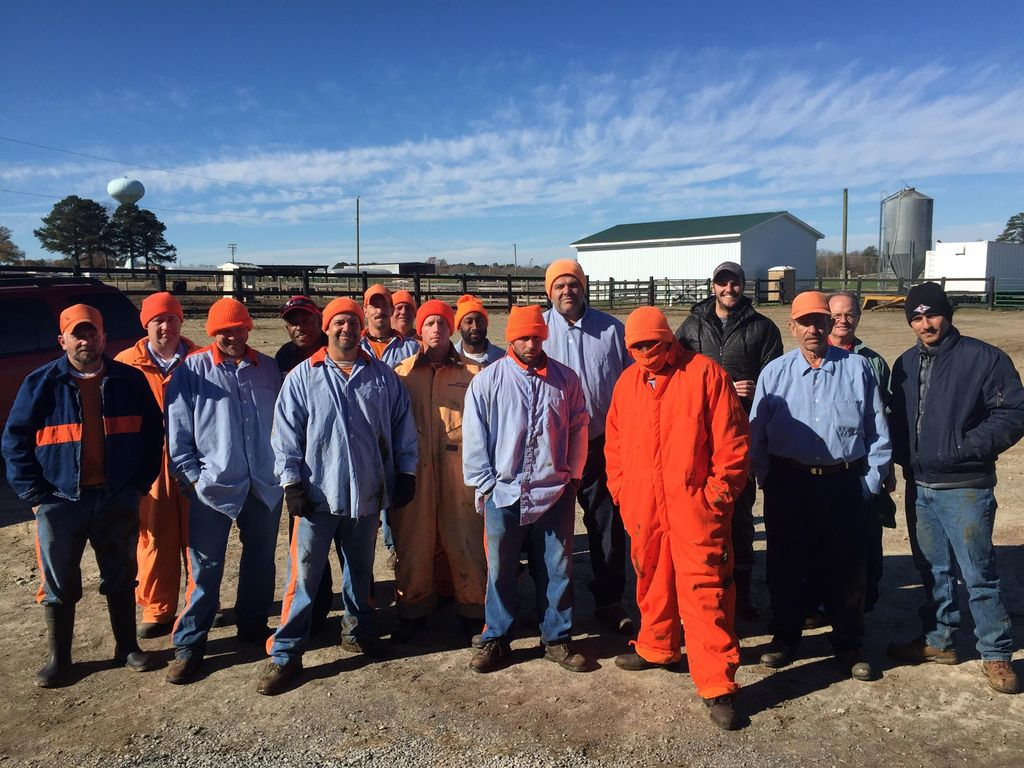 PhD student provides inmates agricultural training