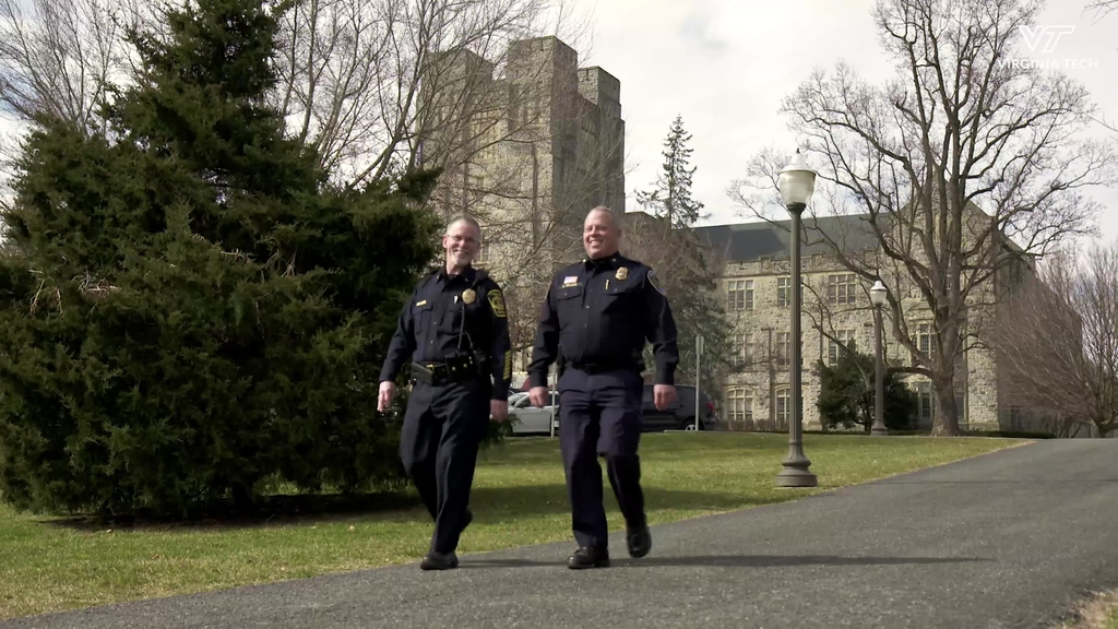 Virginia Tech and Blacksburg Police share unique collaboration