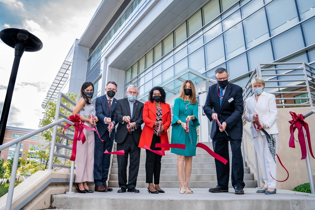 Virginia Tech celebrates addition's grand opening