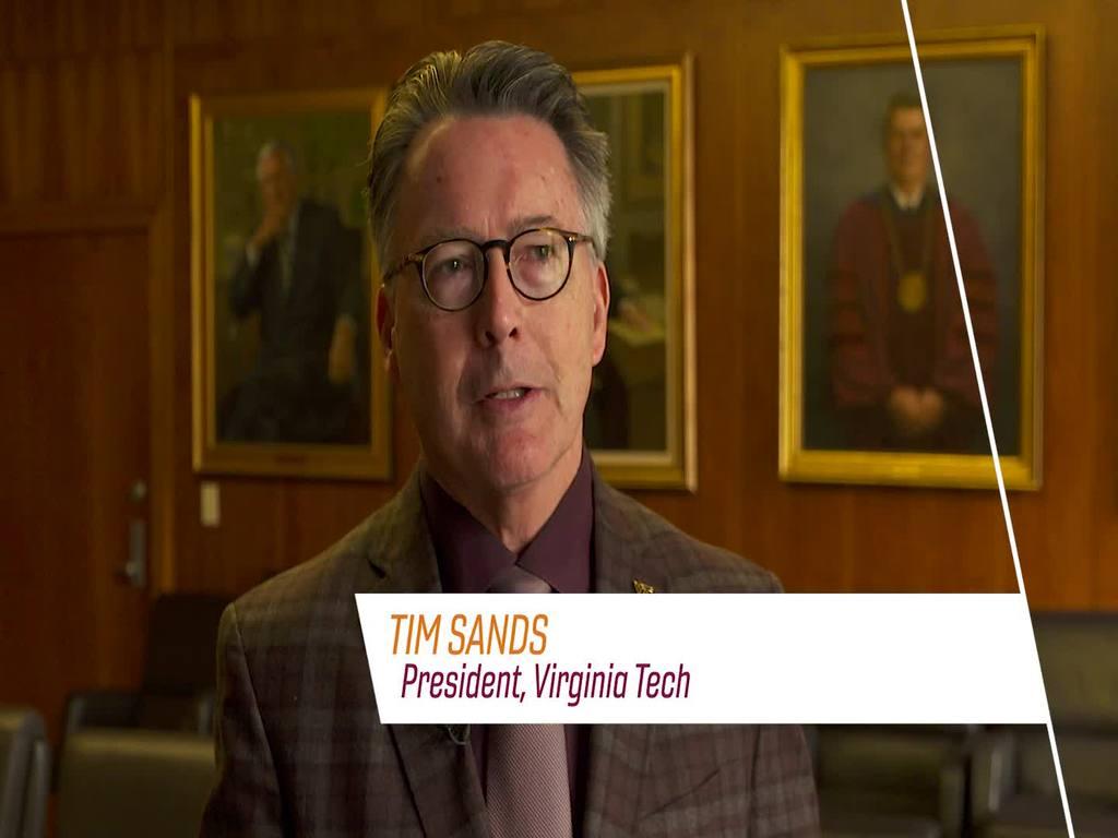 Fralin Biomedical Research Institute at VTC: President Sands