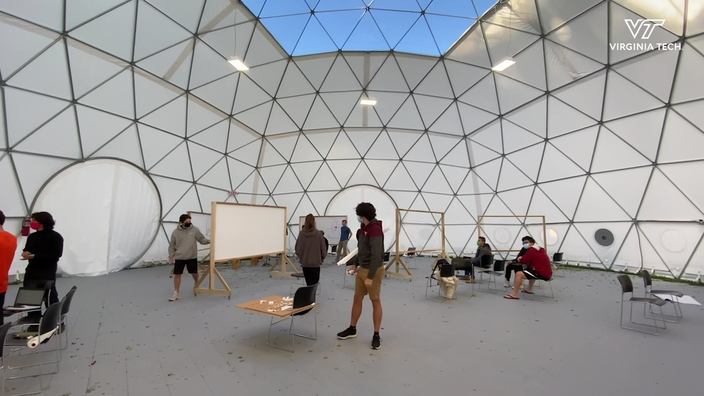 Dome offers alternative learning space during COVID-19