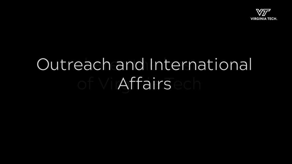 Outreach and International Affairs