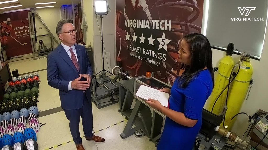Virginia Tech President Tim Sands talks about the value of Virginia Tech's unique footprint in engaging partners