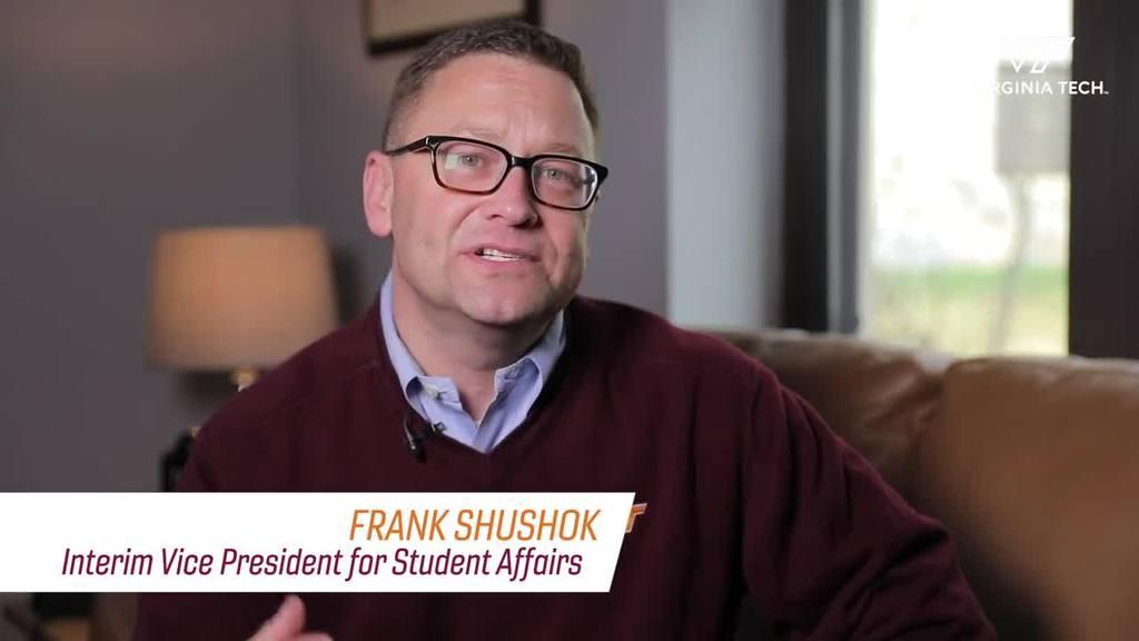 Message from Interim Vice President Frank Shushok