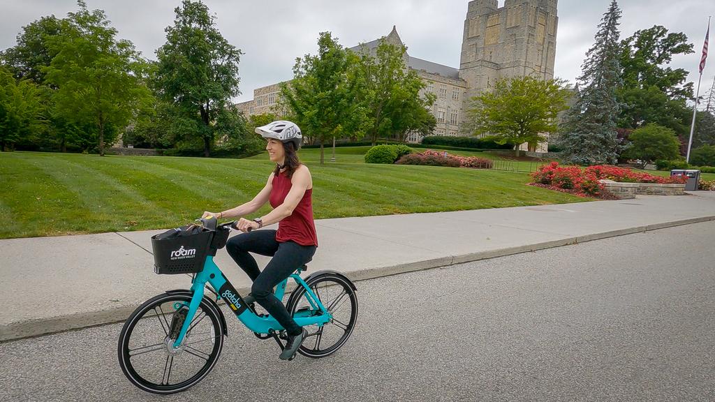 New e-bikes will boost university's sustainability efforts