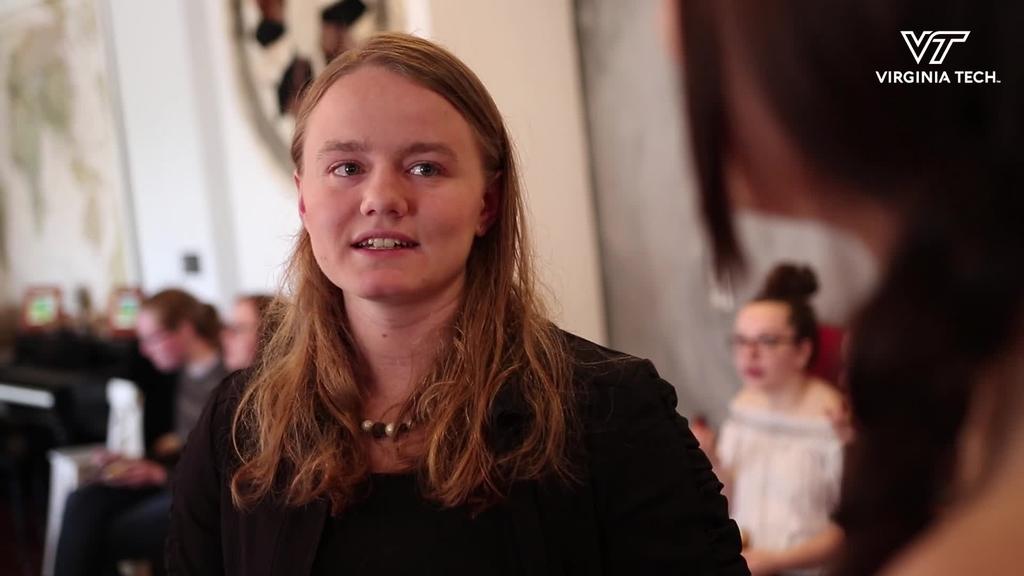 For Austin Michelle Cloyd Fellow, Virginia Tech is home