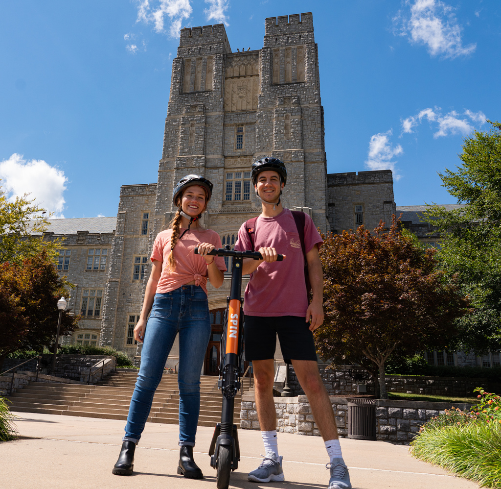 Virginia Tech rolls out electric scooters for pilot research