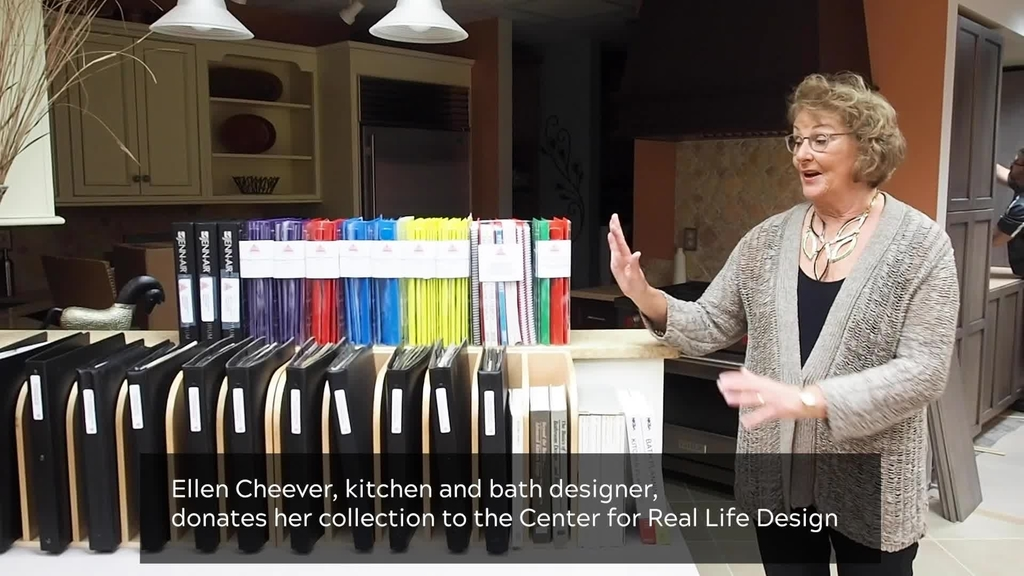 Ellen Cheever donates collection to inspire new kitchen and bath designers