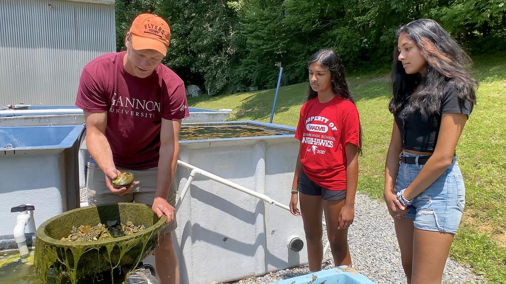 Hutton Program brings budding marine biologists to campus