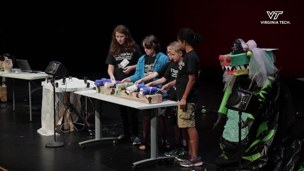 Middle schoolers design, program, and build instruments
