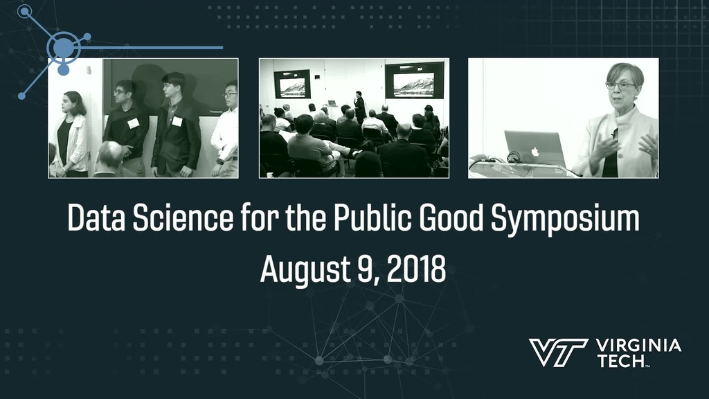 Data Science for the Public Good program launches future research