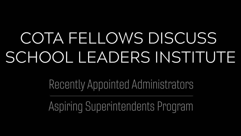 School Leaders Institute