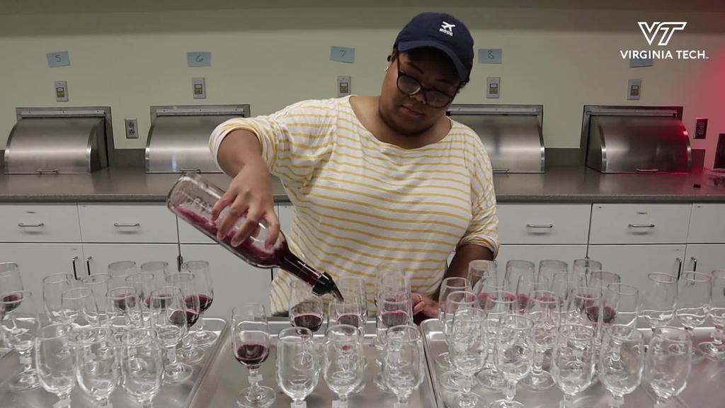 Creating a superior wine at Virginia Tech