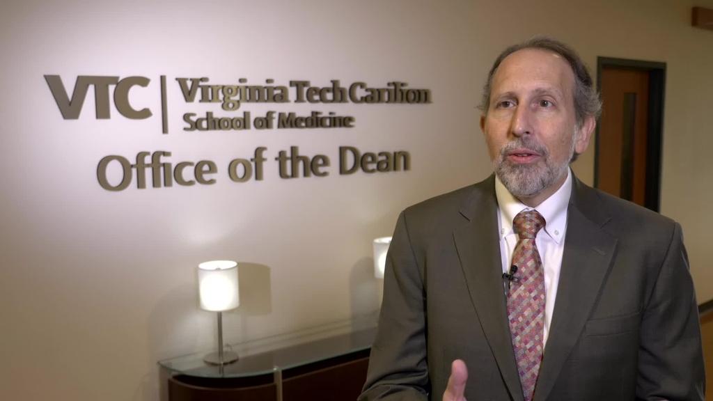 Dean Lee Learman: Why I chose Virginia Tech Carilion School of Medicine