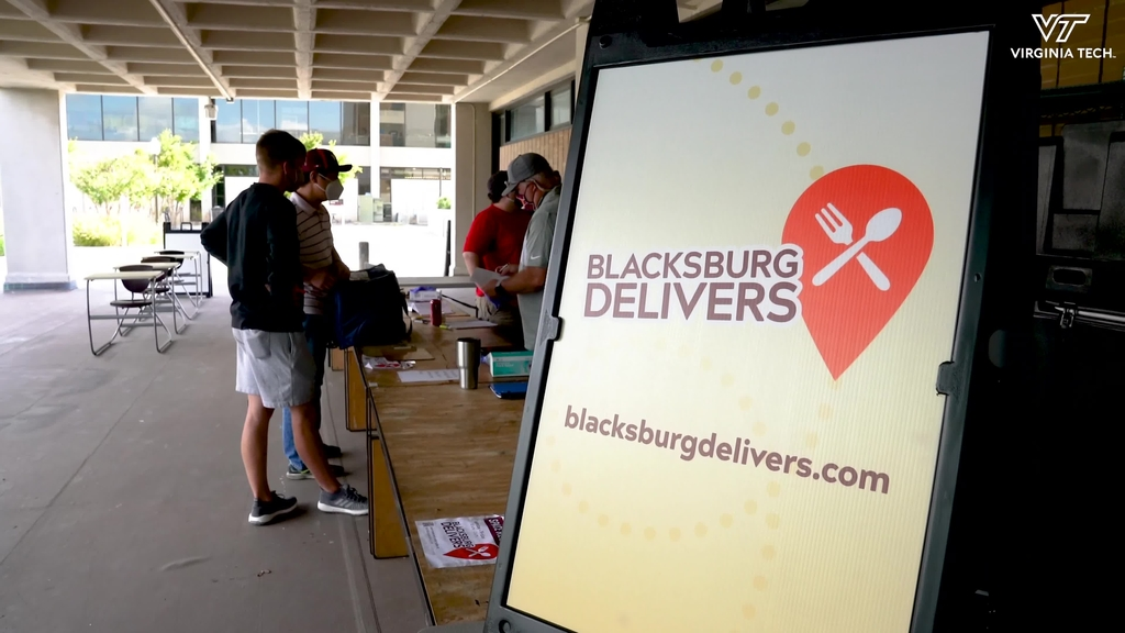 """""""Blacksburg Delivers"""" brings local dining options to campus"""