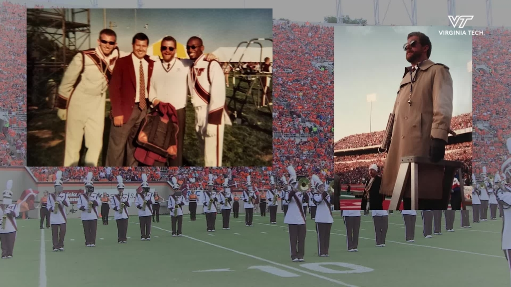 Dave McKee reflects on his time with the Marching Virginians