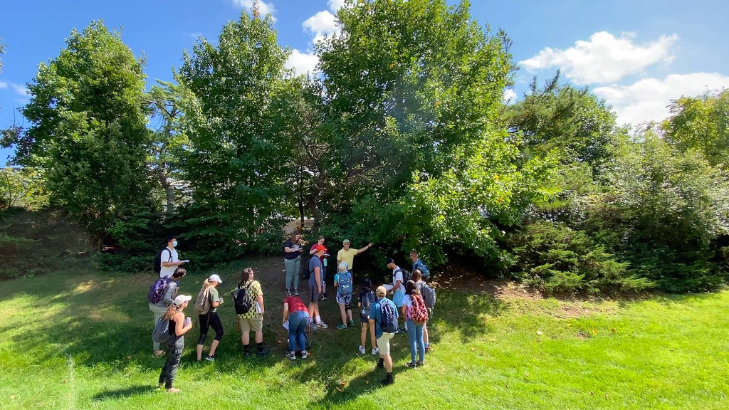 Outdoor labs provide hands-on learning for CNRE students