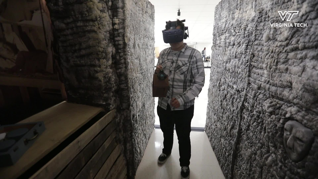 Immersive technology brings  tunnels of Vauquois to Blacksburg